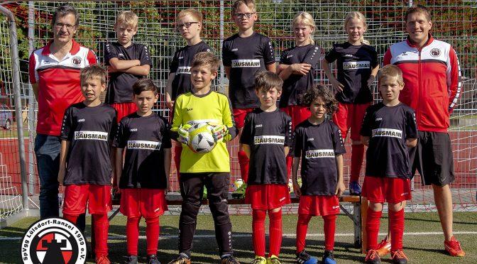 Neue Auswärtstrikots für die LüRa F-Junioren!