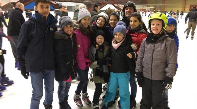 Weihnachtsfeier der Tennisjugend im Icedome in Troisdorf