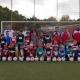 Ballspende der Dancing Diamonds an den LüRa Fußball-Nachwuchs